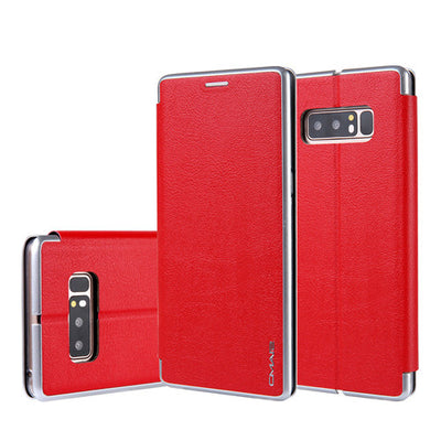 Samsung Galaxy S9/Plus S8 S7/Edge Flip Leather Wallet Card Magnetic Case Cover