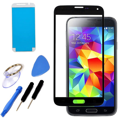 Samsung Galaxy S5 i9600 Outer Front Glass Lens Screen Replacement Frame