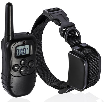Small Anti Bark Dog Training Collar Sound Rechargeable Remote Control Stop Barking