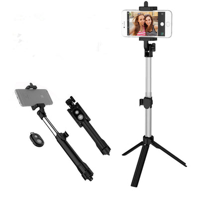 Unipod Selfie Stick Handheld Tripod Bluetooth Shutter For iPhone X Samsung Note9