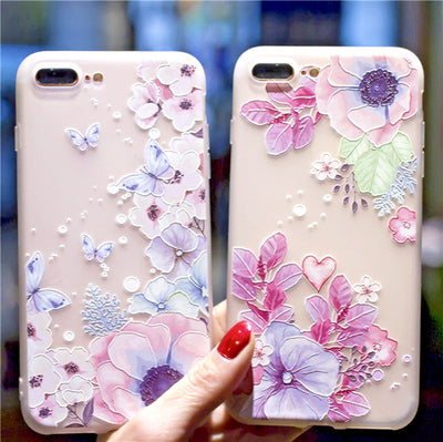 OPPO AX5 R15 Pro R11s 9s Plus F1S A73 77 57 Flower Pattern Gel Slim Phone Case