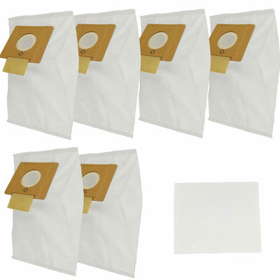 6 x Synthetic Vacuum Cleaner Bags For Hoover SMART R1 4410 4430 5001 H4012