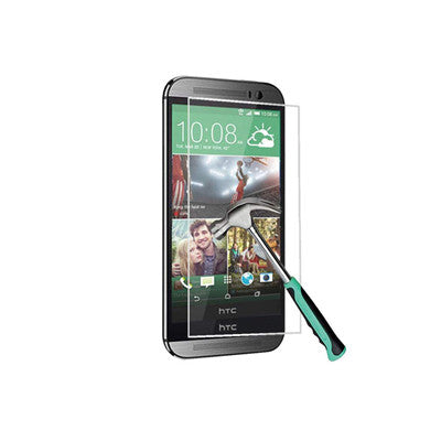 HTC One M9 Tempered Glass Film Screen Protector Scratch Resistant