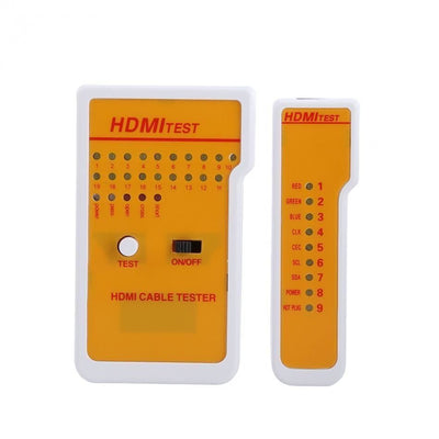 Portable HDMI Cable Fault Quality Tester Tool LED Indicator With Remote Tester