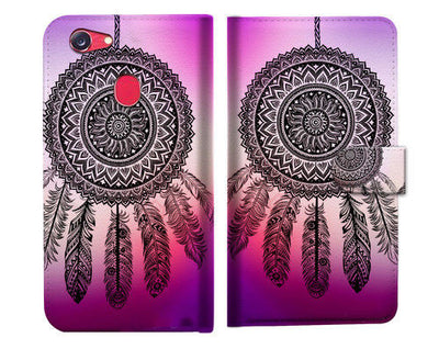 Dream Catcher Wallet Case Cover For OPPO R11S -- A027
