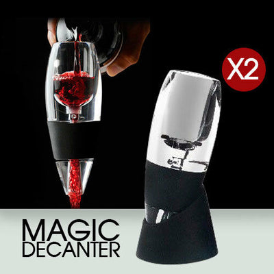 Magic Decanter Essential Red Wine Aerator Sediment Filter Pouch Gift Box