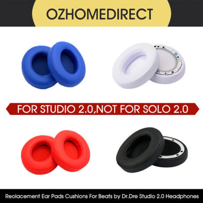 Soft Replacement Ear Pad Cushion for Beats By Dr Dre Studio 2.0 Wireless Headset