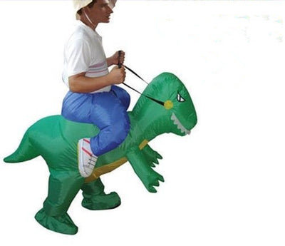 Dinosaur Fancy Dress Inflatable Suit - Fan Operated Costum