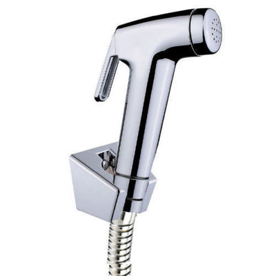 Hand Held Shower Head Douche Bidet Toilet Spray Jet Shattaf Kit Chrome