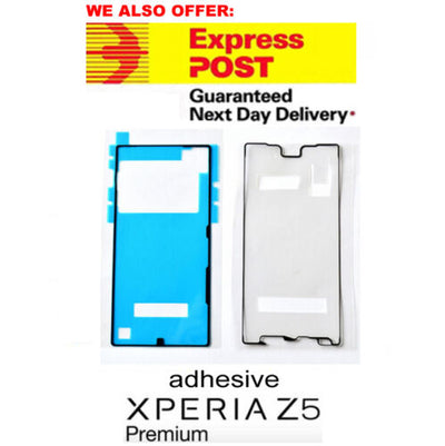 Sony Xperia Z5 Premium E6833 E6883 front LCD and battery cover Adhesive Set