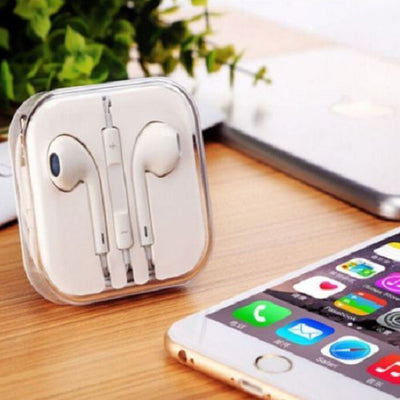 Earphones Headphones Earbuds for iPhone 6 5 4 iPad iPod Air Samsung with Mic