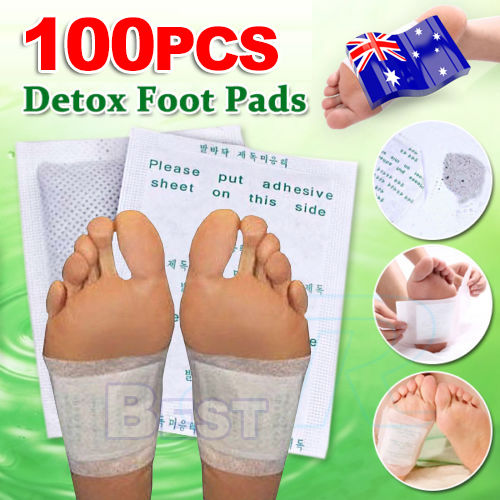 100 Foot Pads Care Sticky Adhesives 100x Detox Patch ...