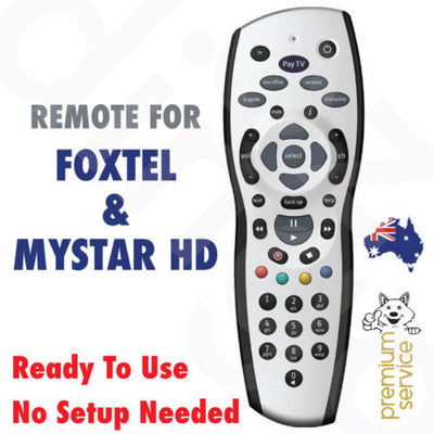 Foxtel Remote Control Replacements | Foxtel/PayTV/Sky New Zealand/MyStar Grey