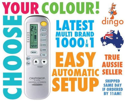 Universal Air Conditioner Remote Control AC Multibrand Airconditioning Aircon