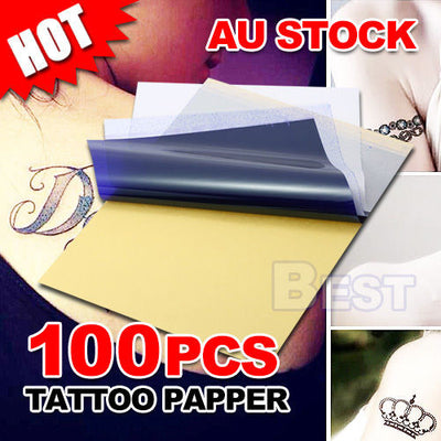 A4 Tattoo Carbon Thermal Copy Body Art Stencil Transfer Paper Tracing