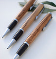 Handmade, wood turned olive pen
