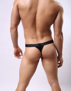 Men Sexy Lace Transparent Briefs
