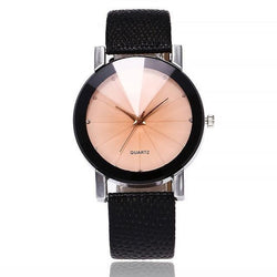 Luxury Brand Leather Strap Wrist Watch