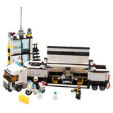 511Pcs Kids Toys City Street Police Station Car Truck Building Blocks