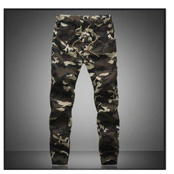 Mens Jogger Camouflage Military Pants