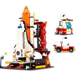 City Spaceport Space The Shuttle Launch Center 679Pcs Bricks Building Block