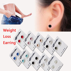 Magnetic Stud Slimming Earrings Lose Weight