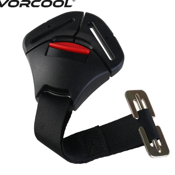 1Pcs Black Car Baby Safety Seat Clip Fixed Lock Buckle