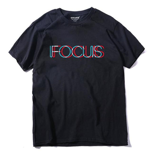 Focus Men T shirt casual o-neck