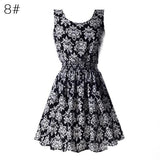 Chiffon Dress With Floral design