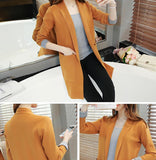 Long Sleeve Cardigan Sweater Knitted Tops