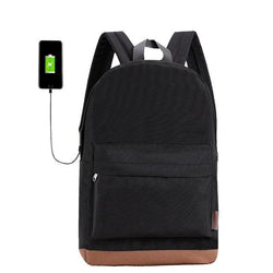UNISEX 15 inch laptop backpack with USB
