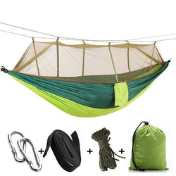 Double Person Ultralight Parachute Hammock Hunting Mosquito Net