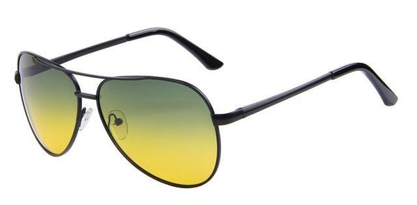 See-Mart.com C01 Black Night Men Polaroid Sunglasses Night Vision