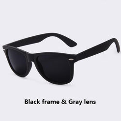 See-Mart.com C05Gray Polarized Sunglasses For Men UV400