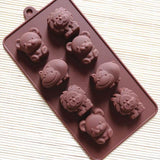 See-Mart.com SICM 008 18 Silicone bakeware for Chocolate Jelly Pudding Ice cube