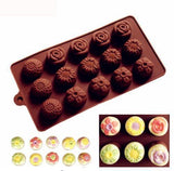 See-Mart.com SICM 115 22 Silicone bakeware for Chocolate Jelly Pudding Ice cube