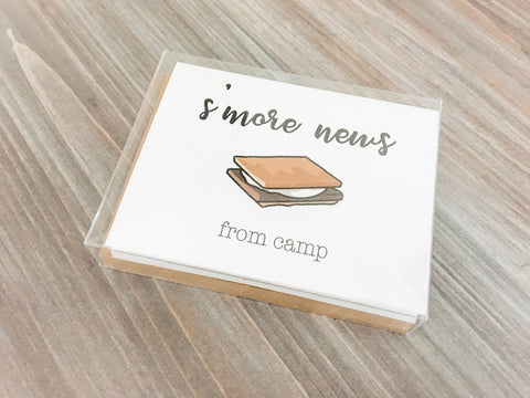 Note Cards for campers - 12/pack