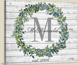 Family Monogram * Last Name Sign