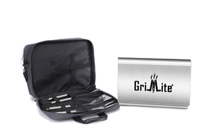 GRILLLITE® Miniature Portable Notebook BBQ Grill