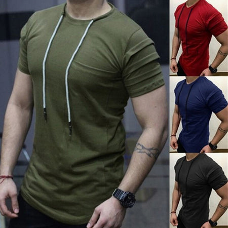 Men's Comfortable Solid Color T-Shirts