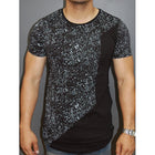 Men's Casual Solid Color Printed T-ShirtsSpecification: Color: Army Green,Light Blue,Khaki Size: S-3XL Sleeve Length: Short Sleeve Neckline: Stand Collar Pattern: Solid Color Material:Polyester Season:Summer Occasion: Daily Casual