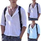 Plus Size Casual V-Neck Breathable T-Shirt