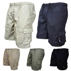 Mens Casual Pocket Drawstring Breathable Shorts