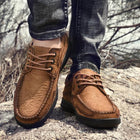 Men's Fashion Business Lace-Up Shoes