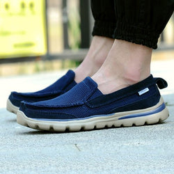 Mens Slip On Breathable Mesh Soft Sole Flats