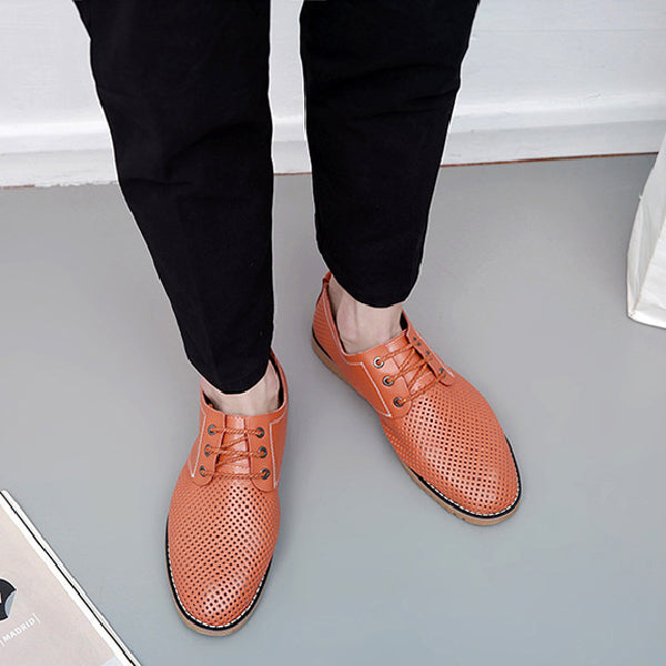 Men's Breathable Casual Shoes Lace Up