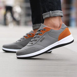 Mens Lace Up Low Top Casual Shoes Athletic Shoes Running Shoes