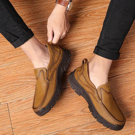 Men's Vintage Slip-On Shoes