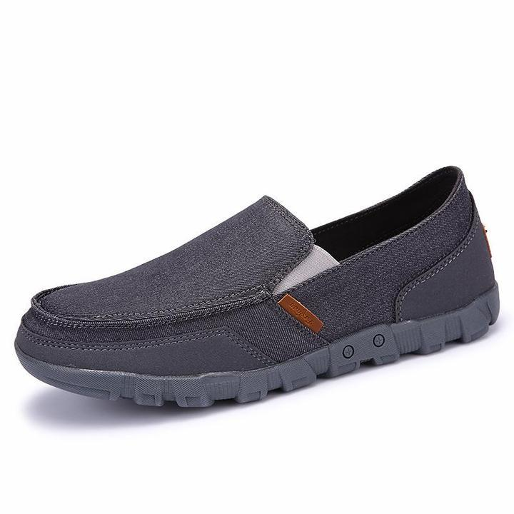 Men Casual Canvas Slip-On Shoes
