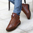 Men Fashion Cotton Ankle Boots